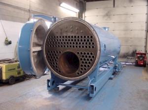 rebuilt steam boiler