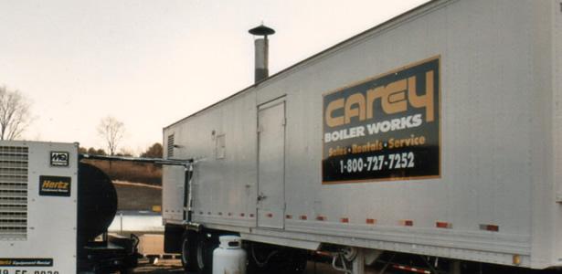 Temporary Boiler Rental Company, Portable Steam Mobile | Carey ...