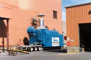 temporary boiler rental - 70,000 PPH