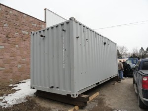 Portable Boiler Room, Self-Contained