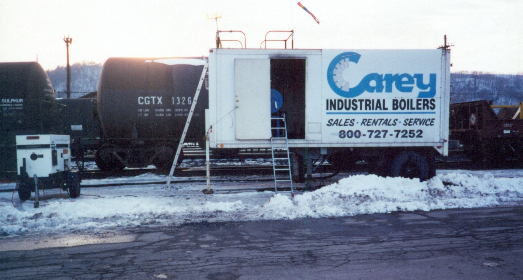 RI Boiler Rental, Portable Temporary Emergency Steam | Carey Boiler ...